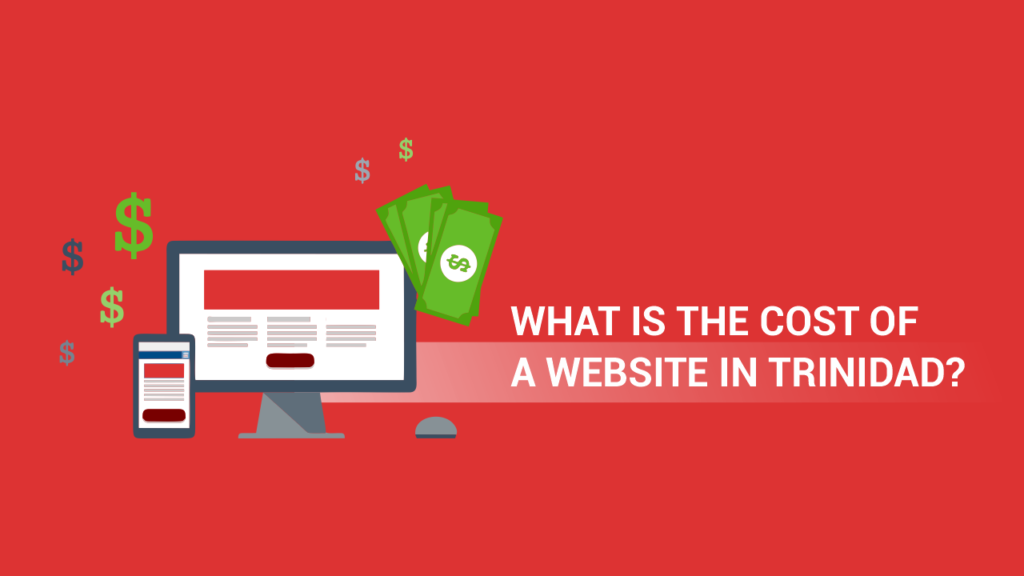 cost of a website in Trinidad