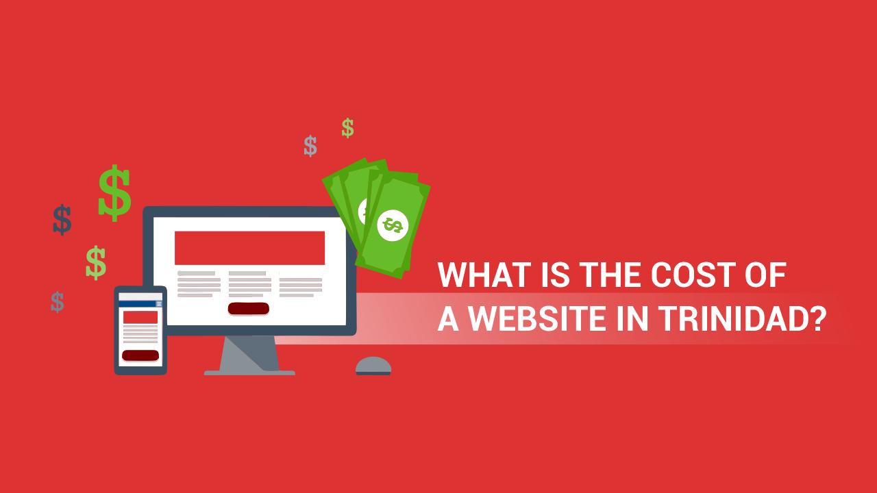 cost of a website in Trinidad